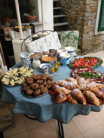 Il Rifugio di Artemide: il buffet colazione brunch  incredibile   non andiamo piu' via