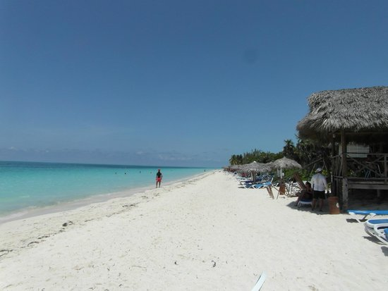 Melia Cayo Coco: Beach Area