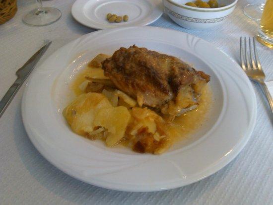 Hotel Felipe II: Cordero asado