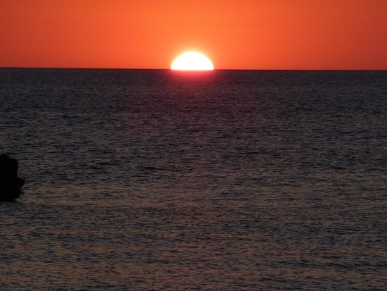 Jeep Safari Menorca : coucher de soleil