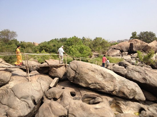 Hampi's Boulders: Hike inside the property