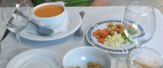 Hotel Felipe II: Gazpacho andaluz