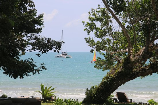 The Datai Langkawi: View on the beach ...