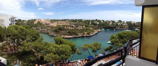Hotel Cala Ferrera : Sea view from room 312