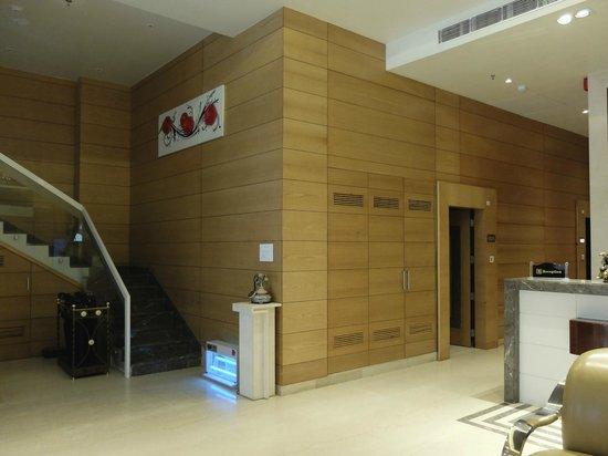 Hotel Sawera Grand: Loby