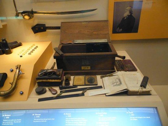 National Civil War Museum : armes