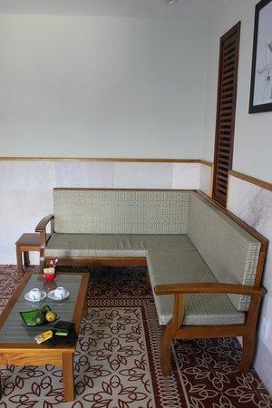Green Heaven Resort & Spa: sitting