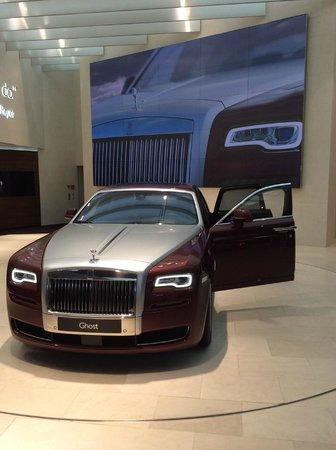 BMW Welt: Rolls Royce