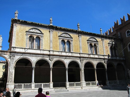 Piazza dei Signori: Площадь Синьории