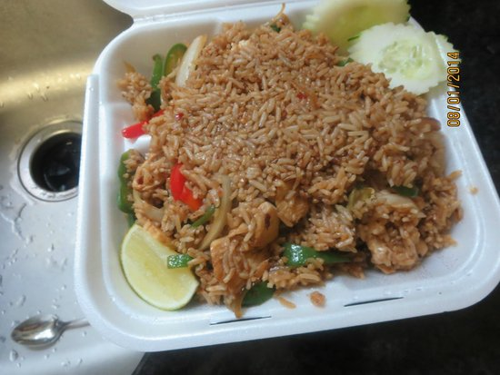 Basil Fried Rice With Chicken - Picture
