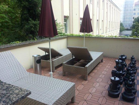 Austria Classic Hotel Wien: on hotel terrace