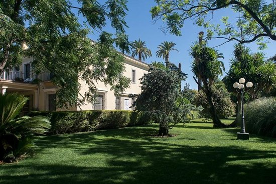Hotel Villa Jerez: The hotel from the garden