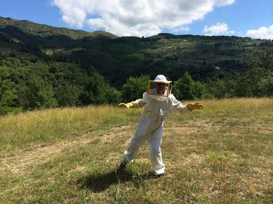 Podere le Pialle: Visiting bee-garden