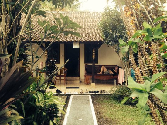 Gusti Kaler House : Room 2, taken from the really nice and quiet garden