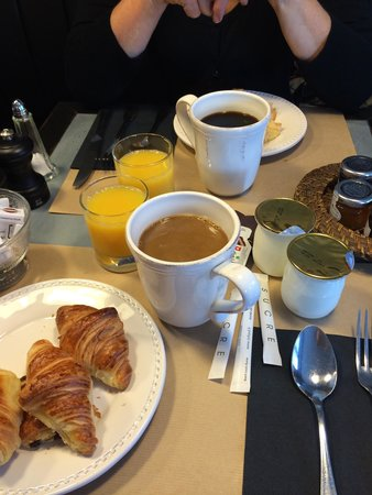 L'Ecu de Bretagne : Le petit déjeuner simple