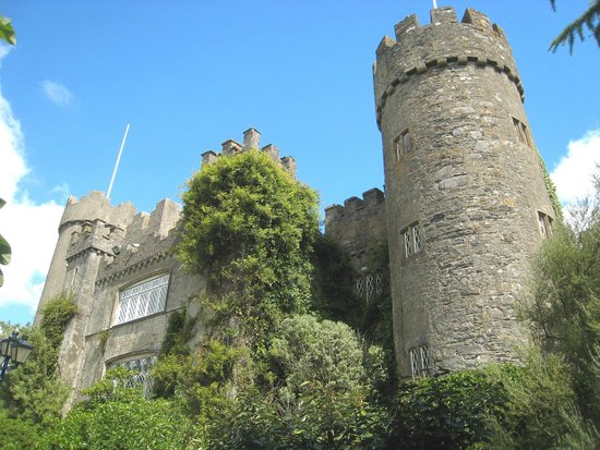 Malahide Castle: Another viewpoint