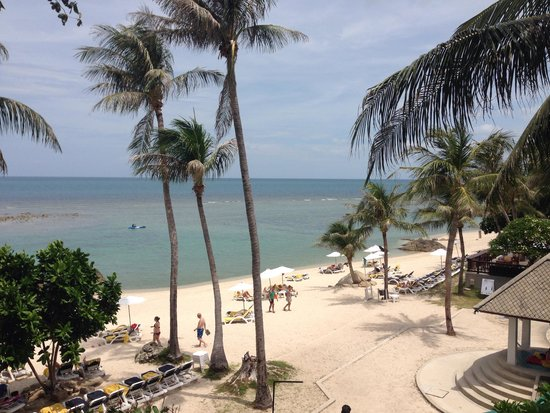 Centara Villas Samui: Beautiful beach!