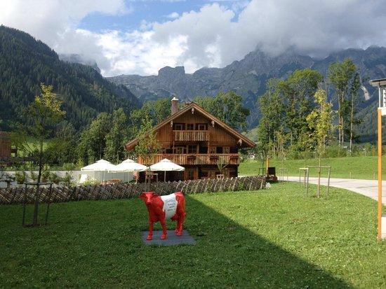 Travel Charme Bergresort Werfenweng: Hotelgelände