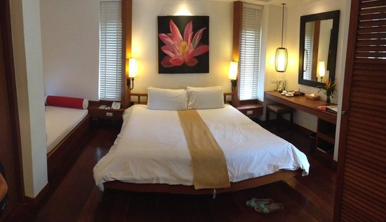 Centara Villas Samui: Garden villa bedroom - excellent
