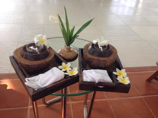 Centara Villas Samui : Free welcome drinks