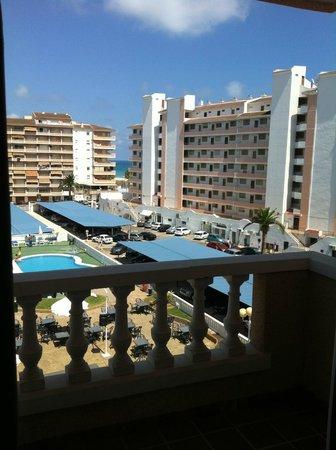 Aparthotel Acuasol: Vista desde la habitación