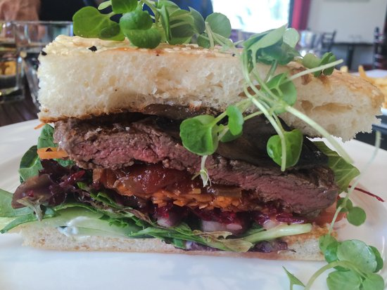 Delivino on Tamborine: The Gorgeous, Melt in the Mouth Steak Sandwich