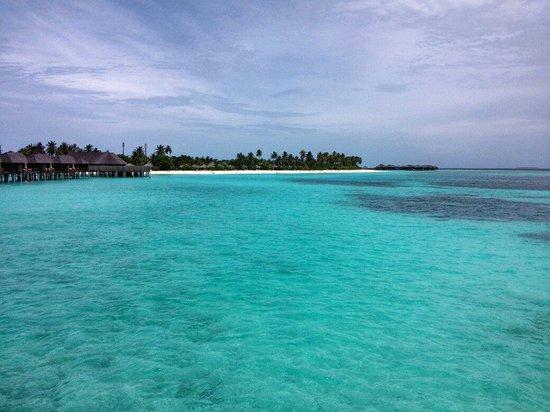 The Sun Siyam Iru Fushi Maldives : View from Water Villa