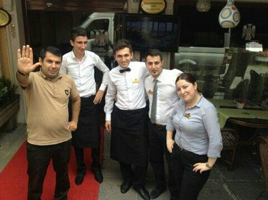 The Byzantium Hotel & Suites: you are a perfect team (dorina,hanifi and birol too)we will miss you