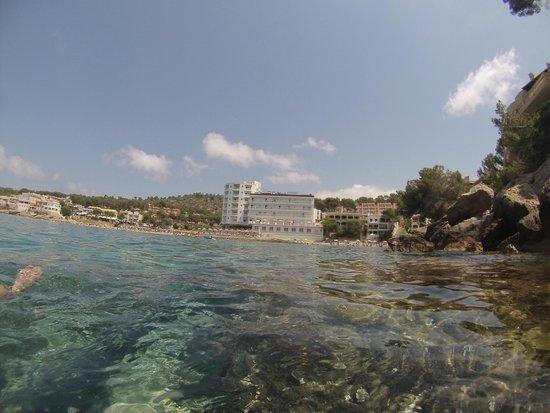 Universal Hotel Aquamarin: View from swimming