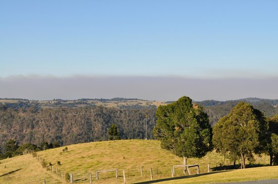 Southern Cross 4WD Tours: The views of the Gold Coast Hinterlands.