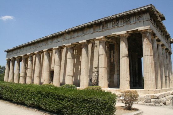 Ancient Agora of Athens: The Temple of Hephaistos