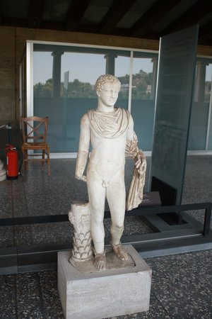 Ancient Agora of Athens: Statue in the Ancient Agora Museum