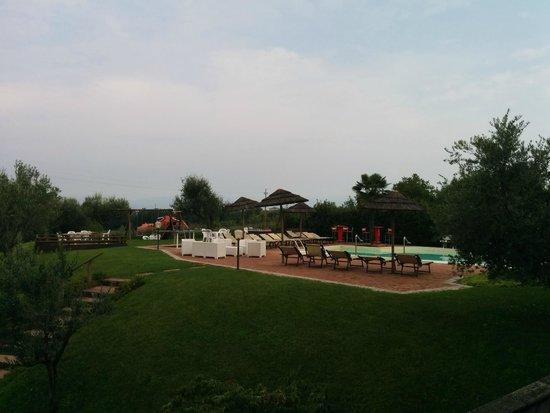 Bertoletta Village: Vista sud