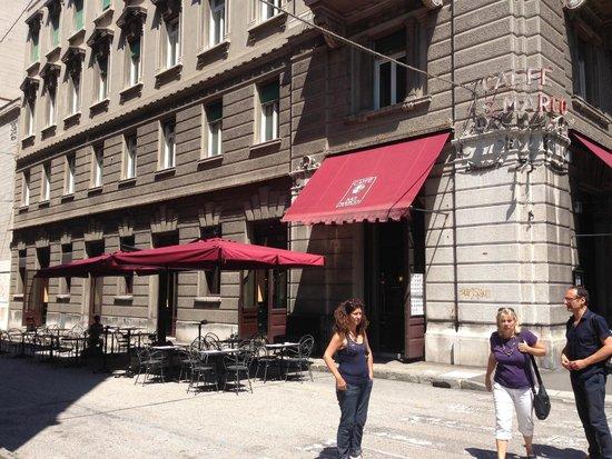 Antico Caffe San Marco: Dehors