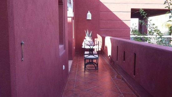 El Miria Palais Riad : une terrasse où il fait bon vivre