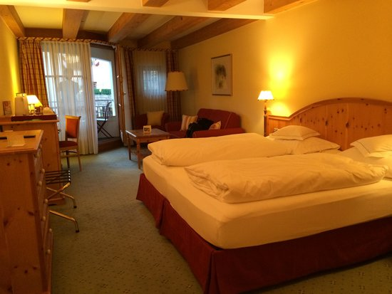 BEST WESTERN PREMIER Kaiserhof Kitzbühel: ホテルの室内