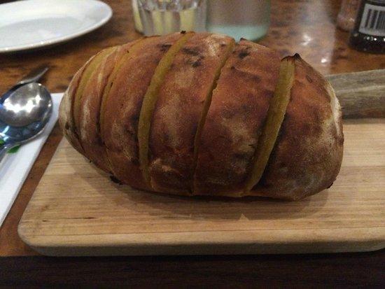 Alfresco Italian Restaurant: Garlic Bread