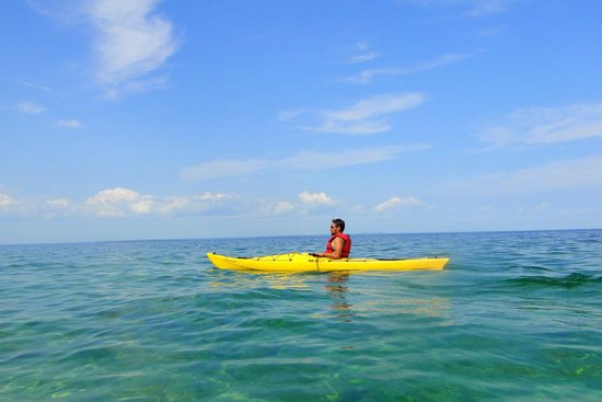 Great Turtle Kayak Tours: Our guide, Ben... he grew up on Mackinac so can tell you anything you need to know about the isl