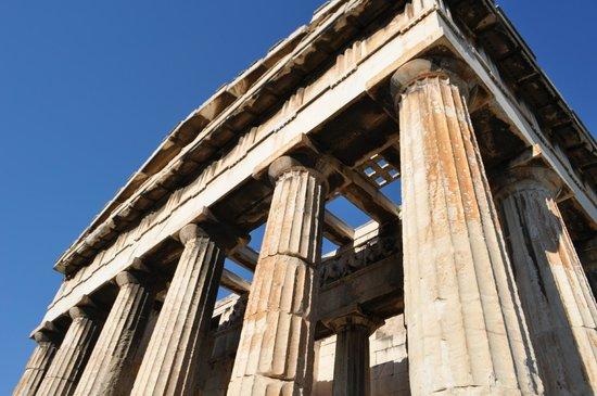 Temple of Hephaestus: Templo de Hefesto