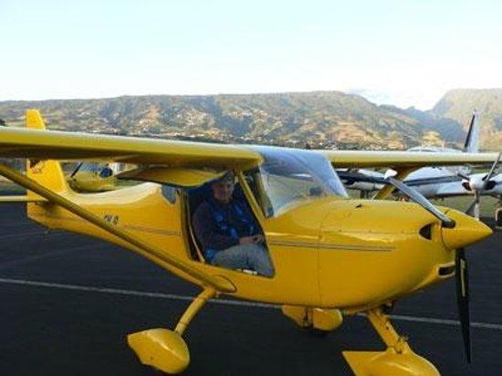 Sainte Marie, Reunion: Prêt au décollage