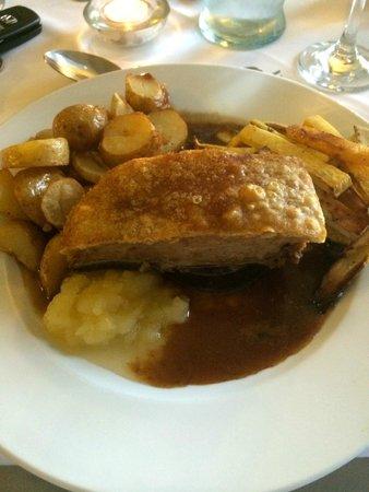 Mellington Hall Hotel: Belly Pork