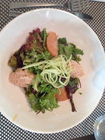 B Com Brasserie : Salade de crabe