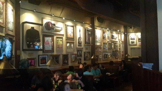 Hard Rock Cafe : Интерьер