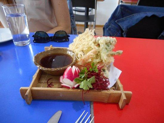 Zaibatsu : veg tempura