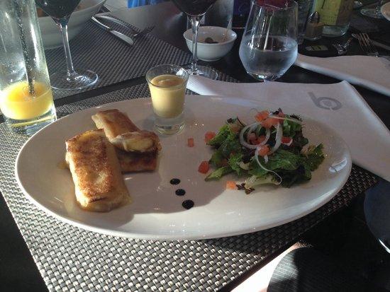 B Com Brasserie : Croquants au roblochon