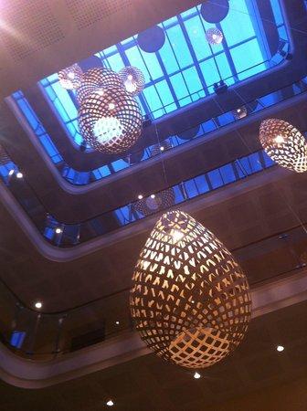 Hotel Allegra : Tageslicht in der Eingangshalle