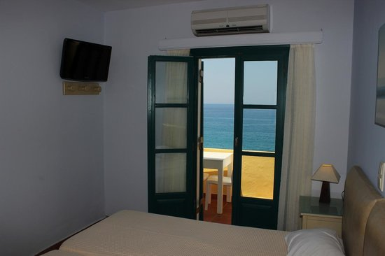 Hotel Grotta: Room with a view