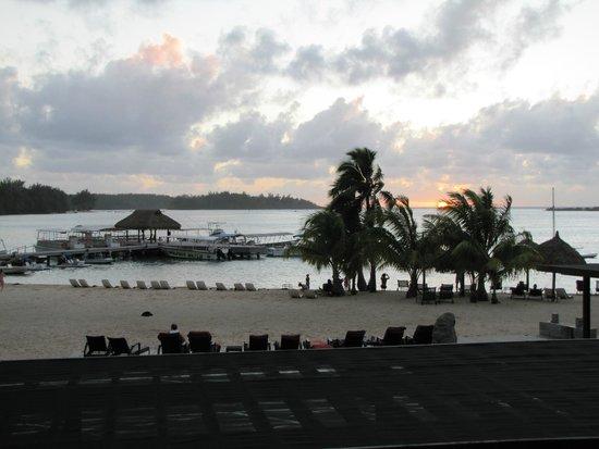 InterContinental Moorea Resort & Spa: Vue du  balcon