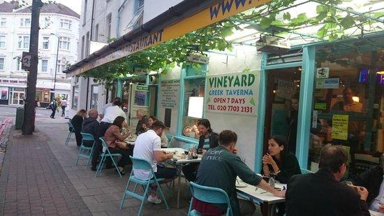 Greek Restaurant Camberwell Grove