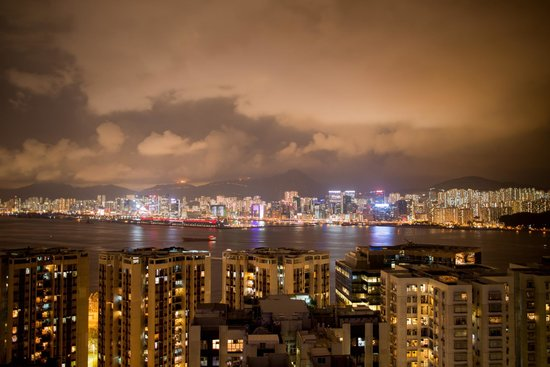 EAST Hong Kong: view over the bay
